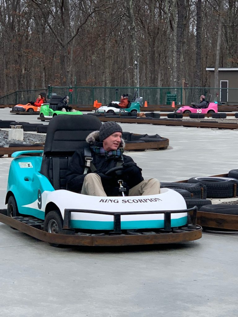 GoKart at Woodloch