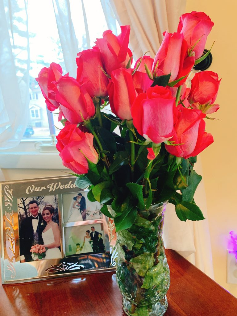 valentibe's day flowers
