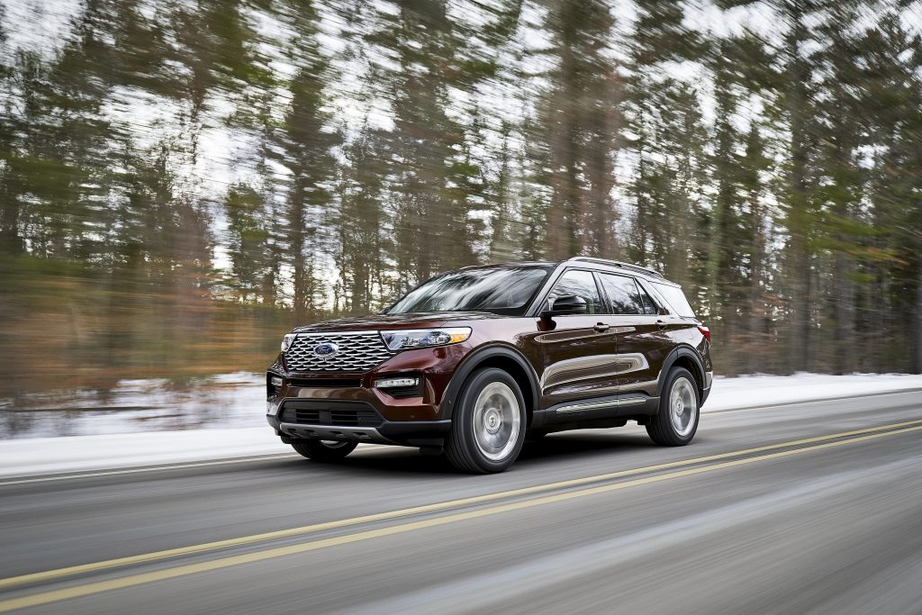 On Road 2020 Ford Explorer