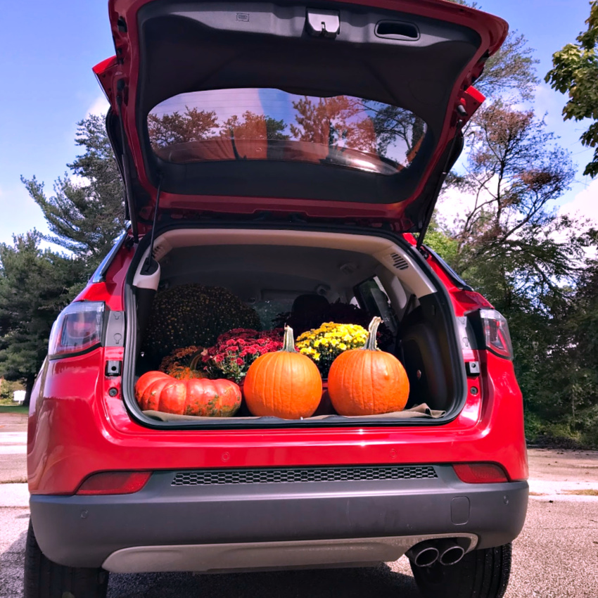 jeep compass' 2018 trunk