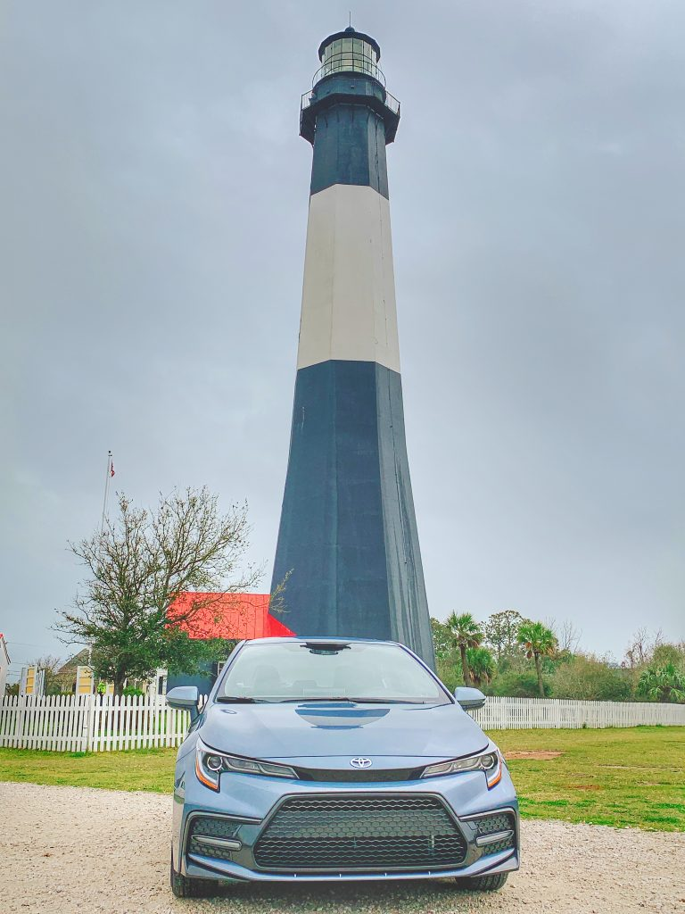 Corolla at Tybee Lighthouse