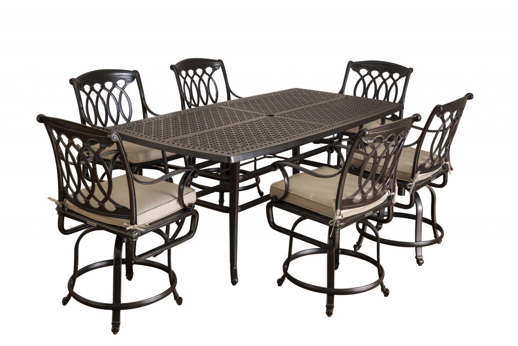 large deck table