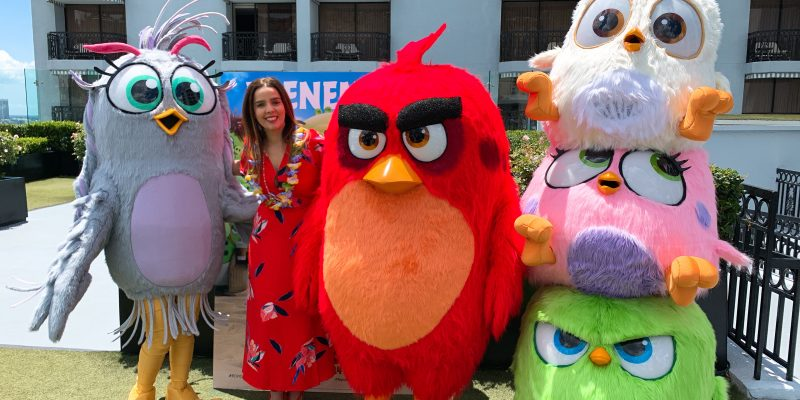Angry Birds 2 Event in LA