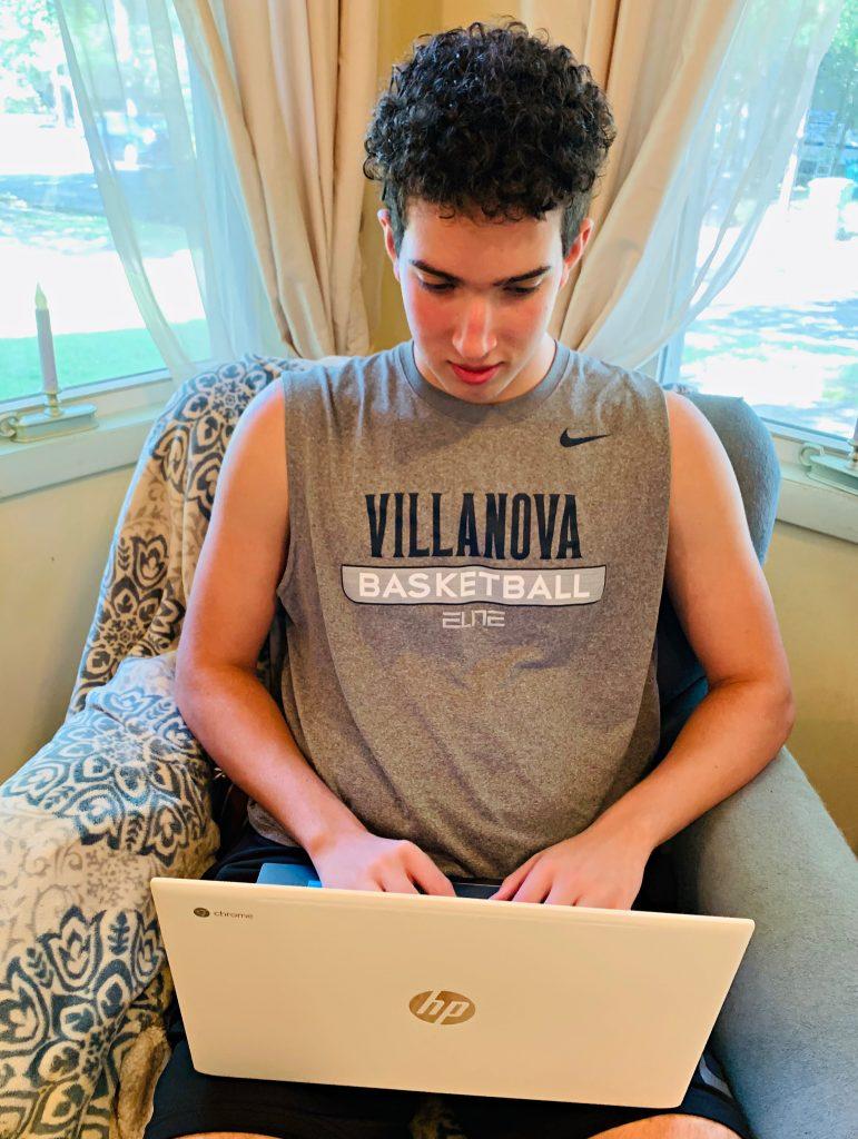 Teen-at-computer