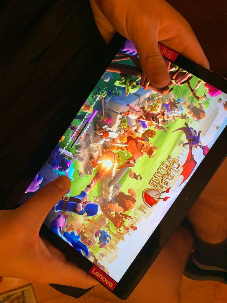 Games on Lenovo M10