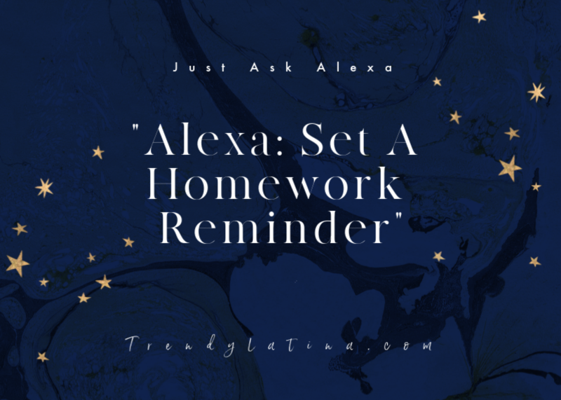 Set alerts with Alexa