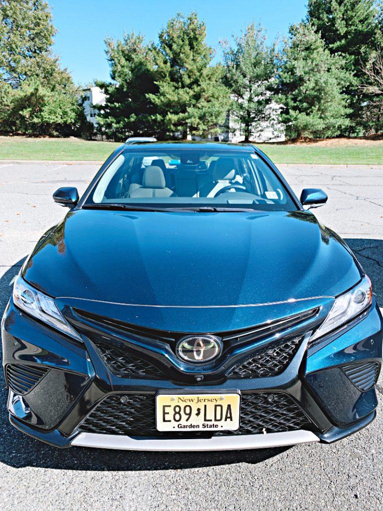 2019 Toyota Camry XSE Galactic Aqua