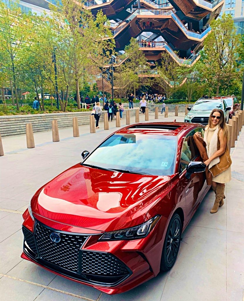 Trendy Latina with the 2020 Toyota Avalon Hybrid