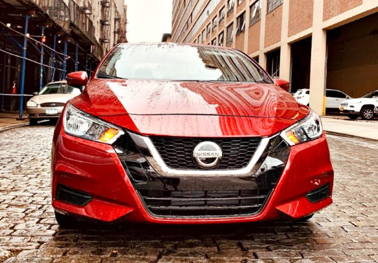 scarlet ember 2020 Nissan Versa