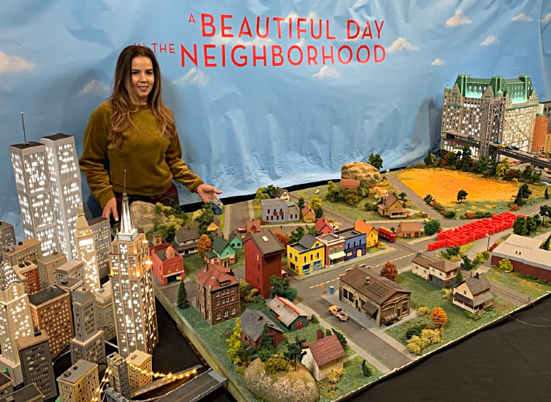 Trendy Latina in Mr Rodgers Neighborhood
