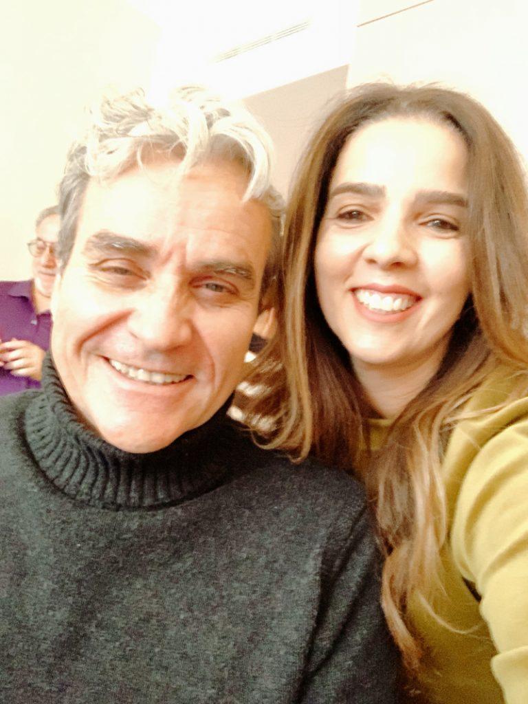 Trendy Latina and Tom Junod