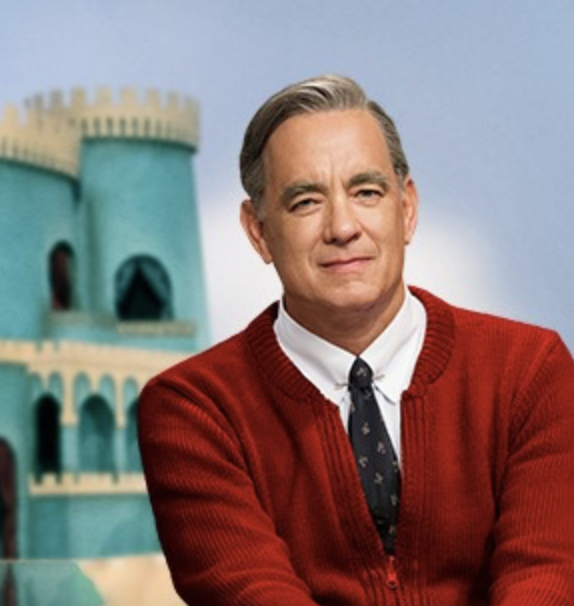 Tom Hanks as Mr Rodgers