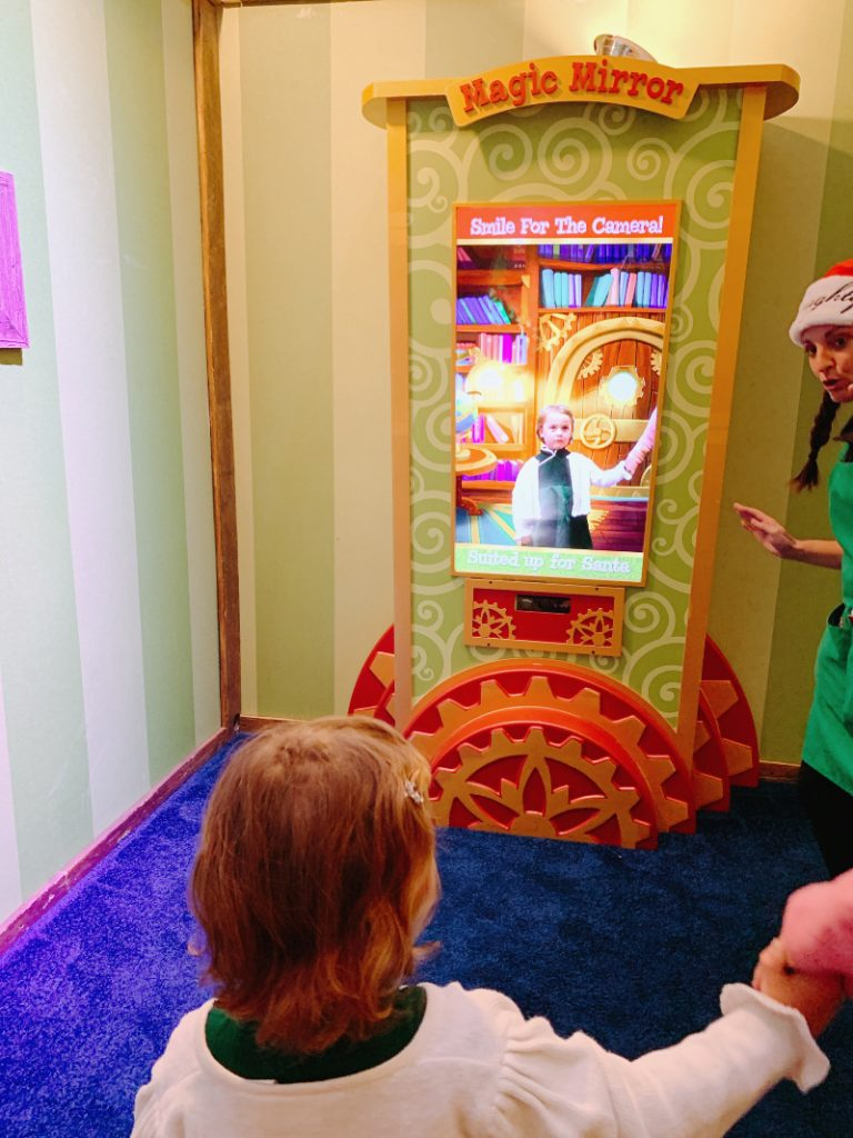 Santa HQ Magic Mirror