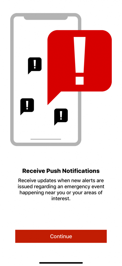 Notify NYC App notification examples