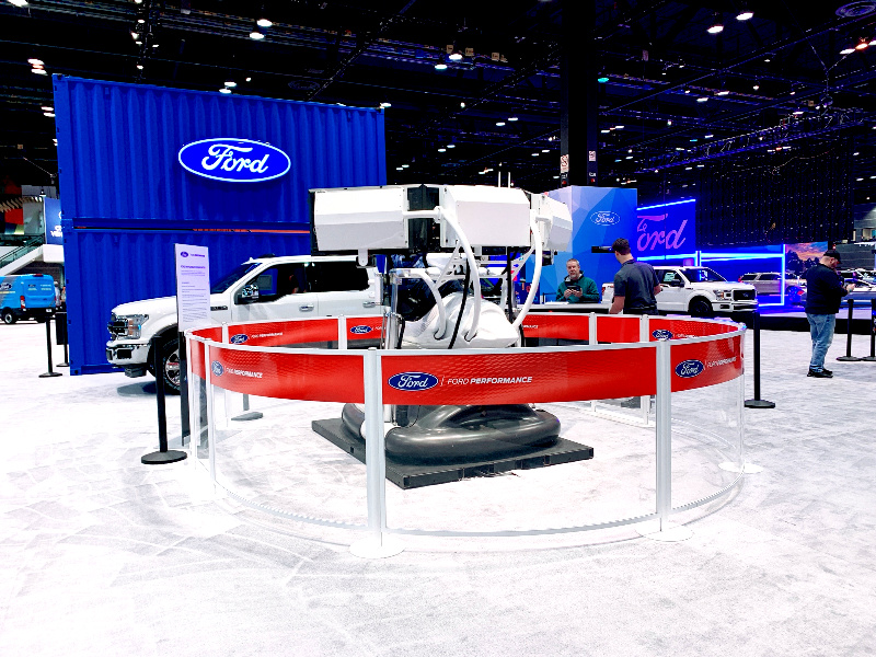 2020 CAS Ford driving simulator
