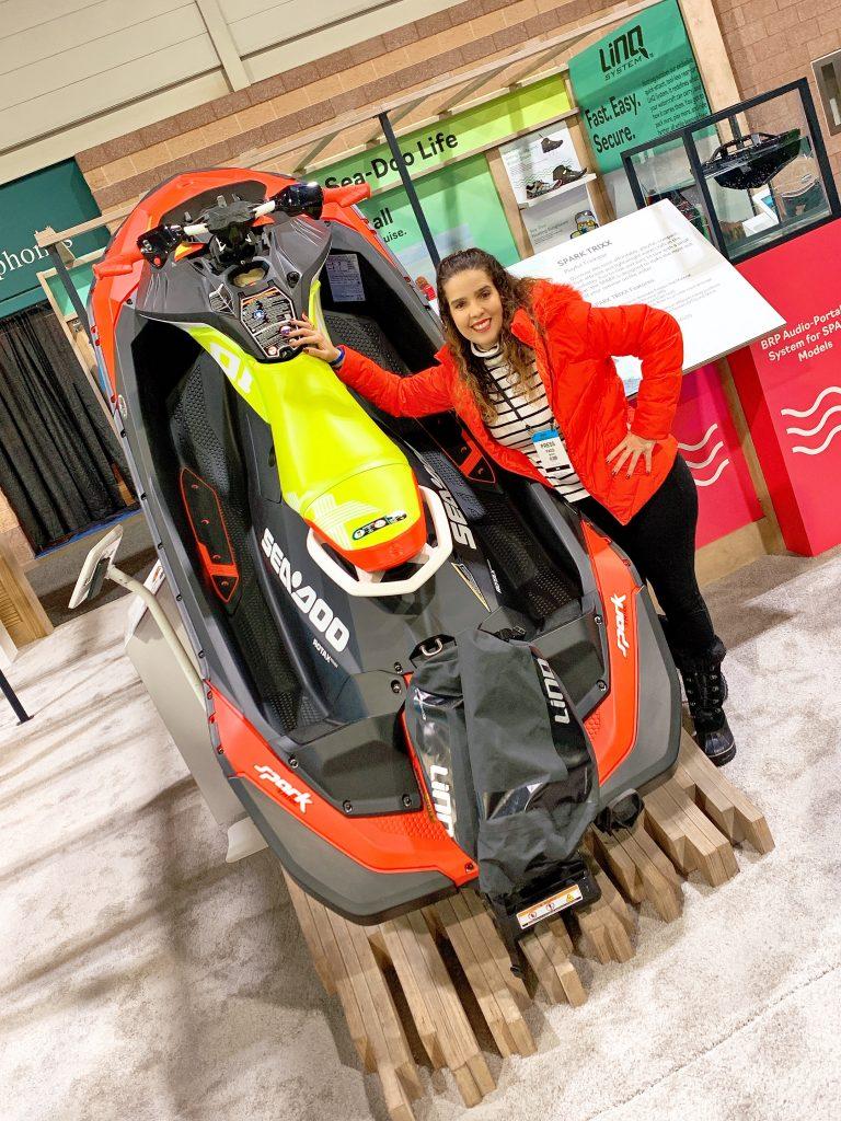 Jet Ski at 2020 AC Boatshow