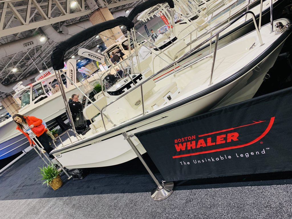 Boston Whaler at AC Boatshow