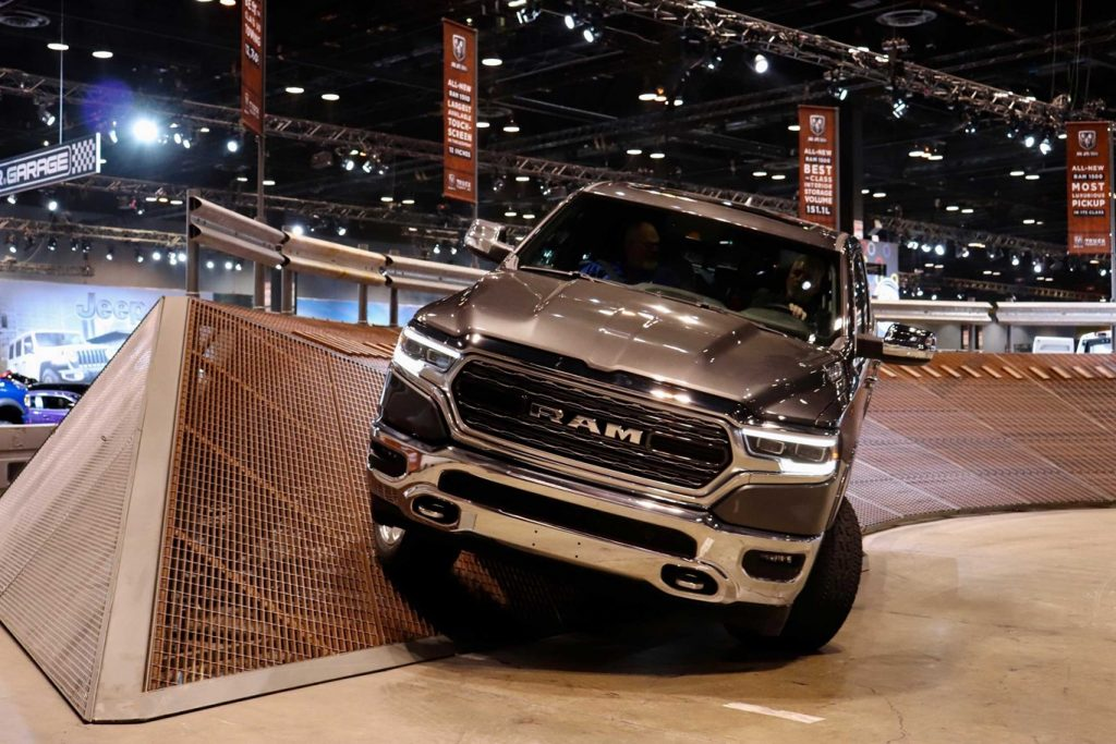 2020 Ram Trucks at the CAS