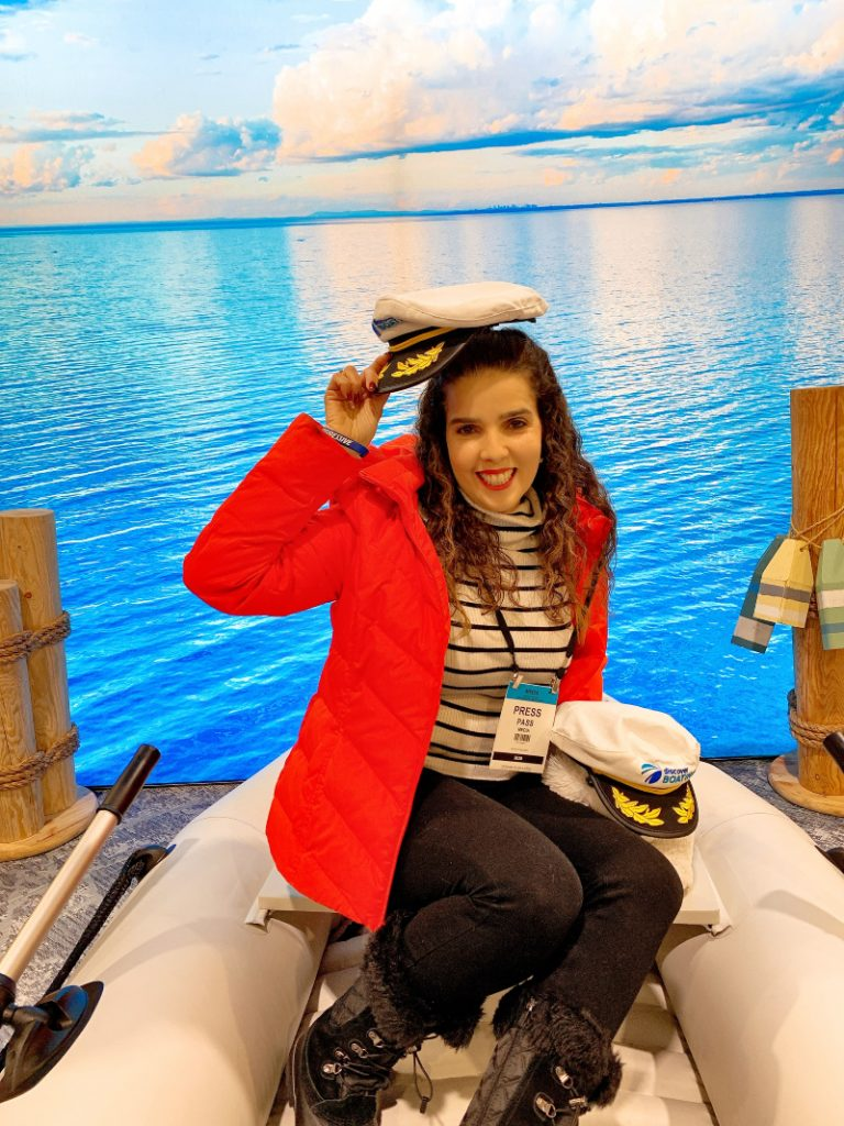 Captain Claudia at the AC Boatshow