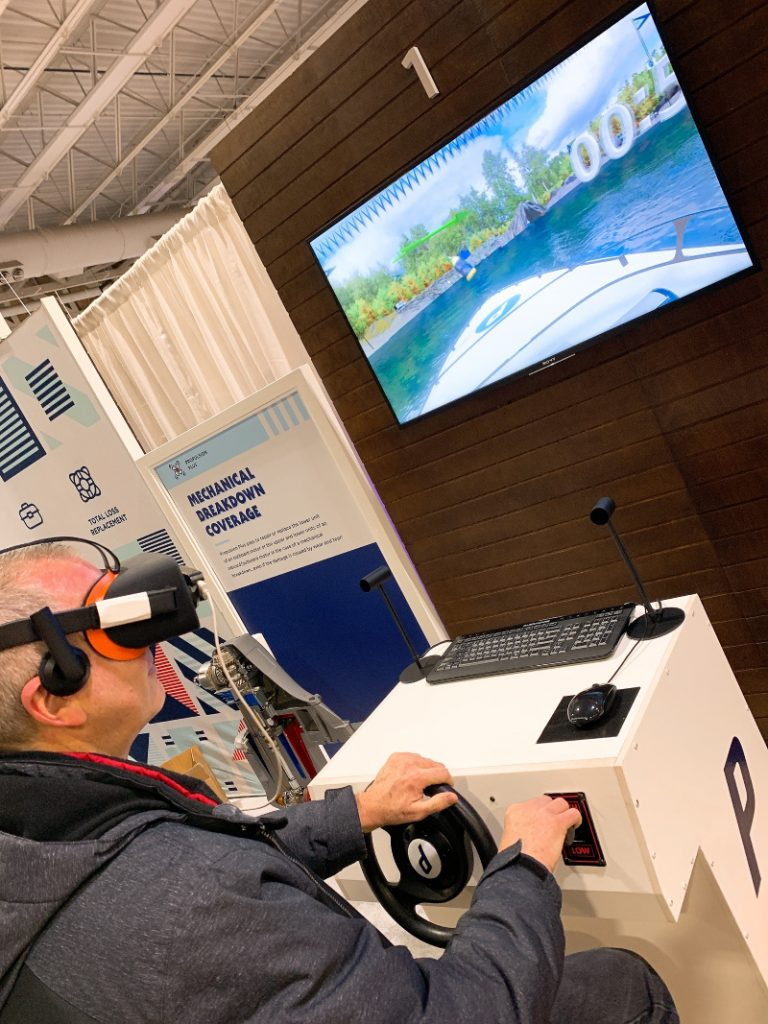 Virtual Boating at the AC Boatshow