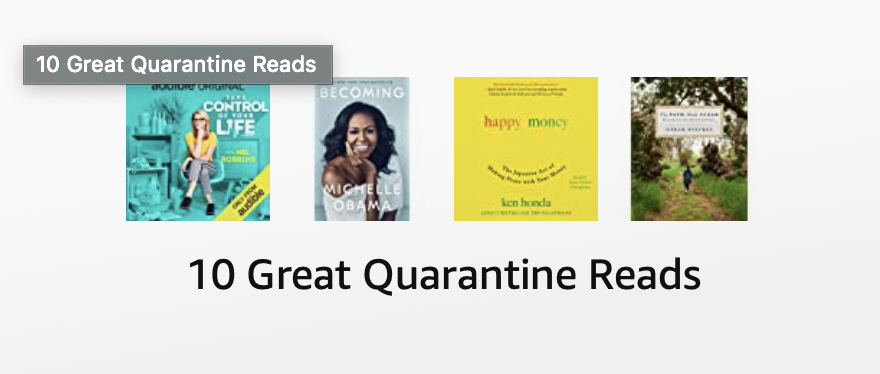 Ten great quarantine reads