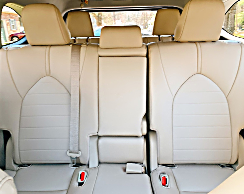 2020 Toyota Highlander Back seat area