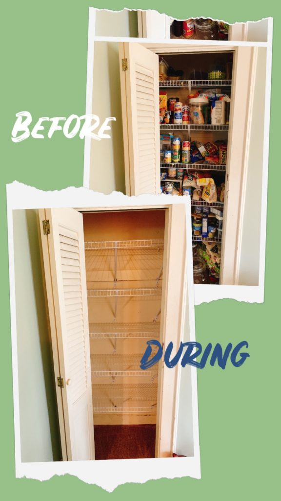 spring pantry cleaning