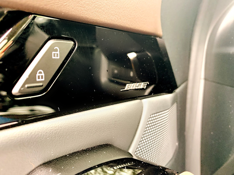 Bose sound system in the Mazda CX-30