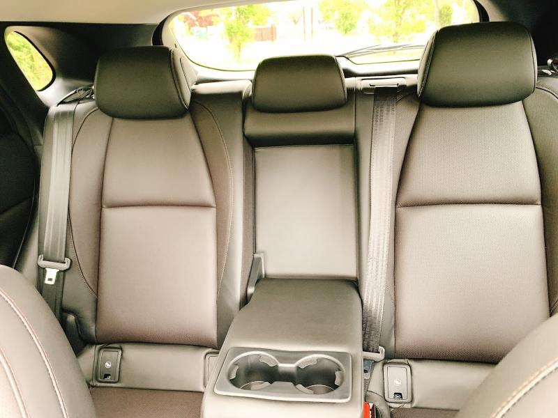 headroom in the Mazda CX30