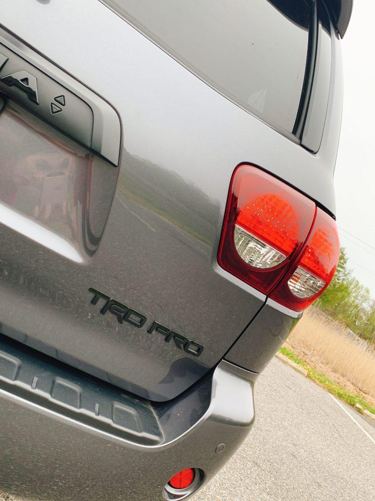 2020 Toyota Sequoia 4X4 TRD Pro rear view