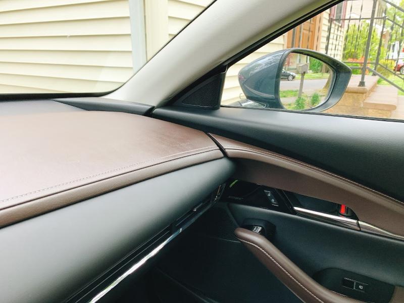 Interior of the Mazda CX30