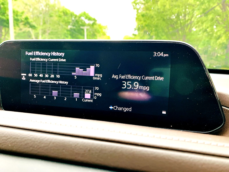 Mazda CX30 Infotainment screen