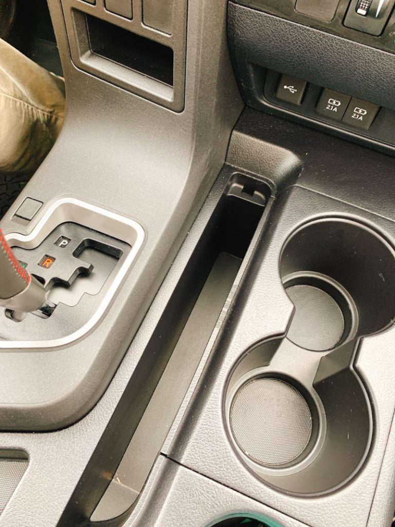tech ports on the 2020 Toyota Sequoia 4X4 TRD Pro