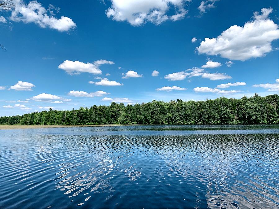 beautiful lake in NJ