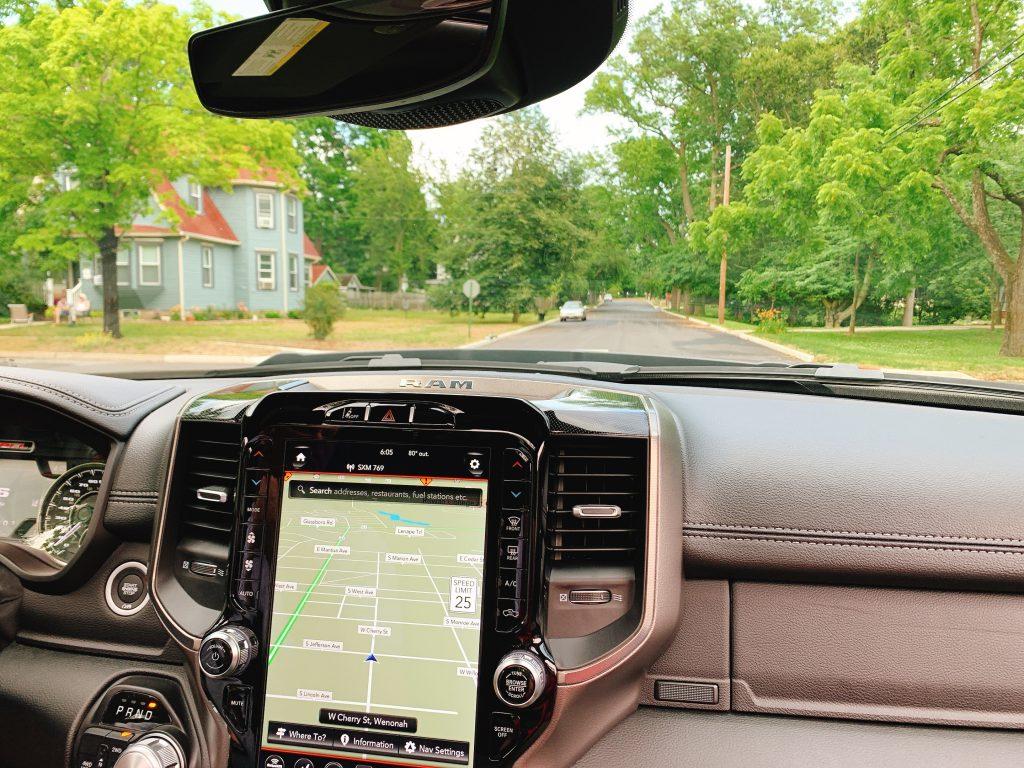 GPS on the 2020 Ram Rebel