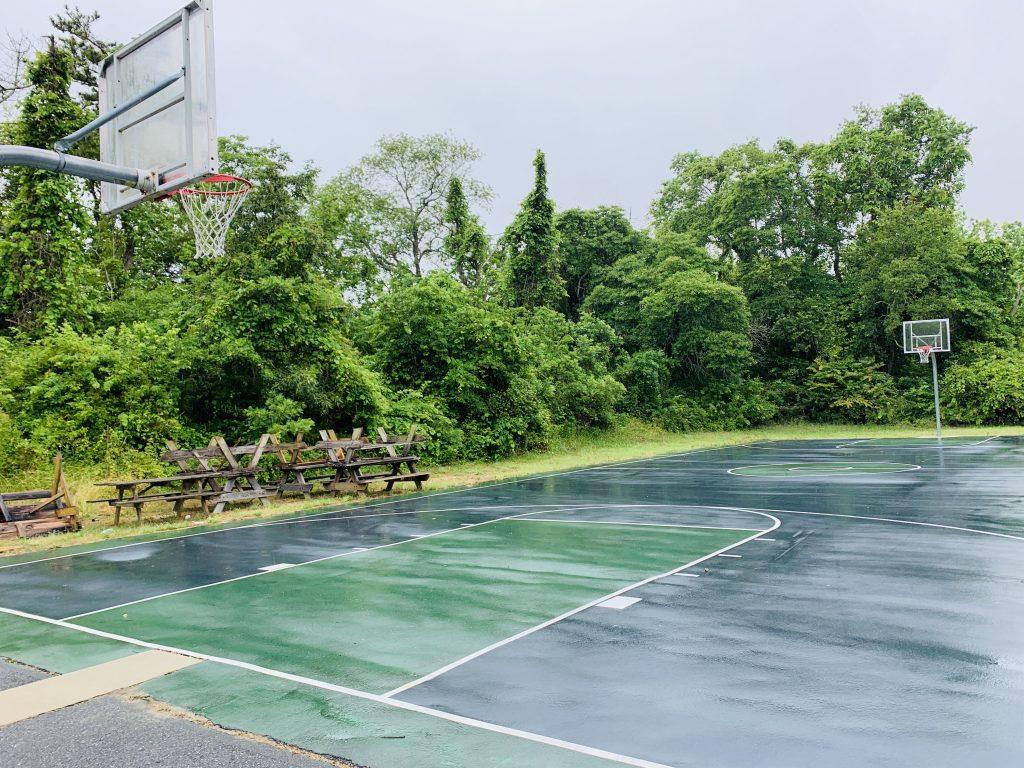 Cape May KOA basketball court