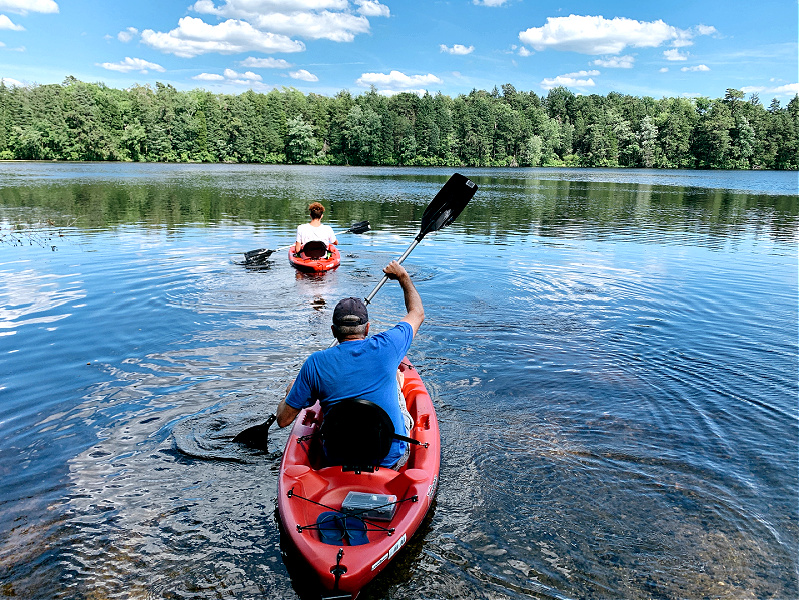 kayaking in NJ State Park