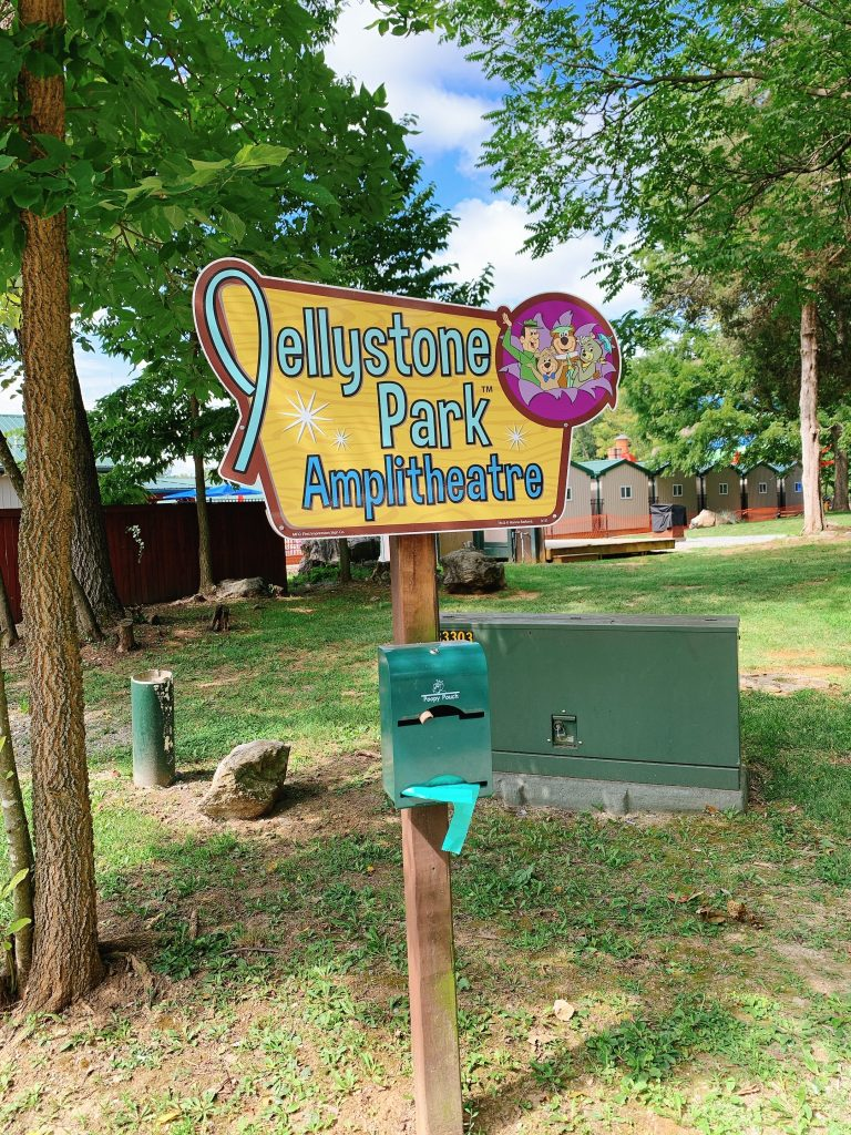 amplitheatre at jellystone campground