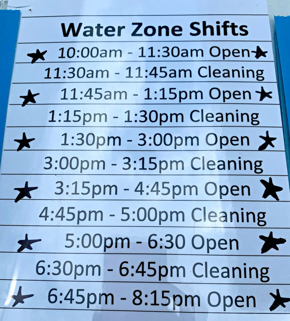 Jellystone campground pool schedule