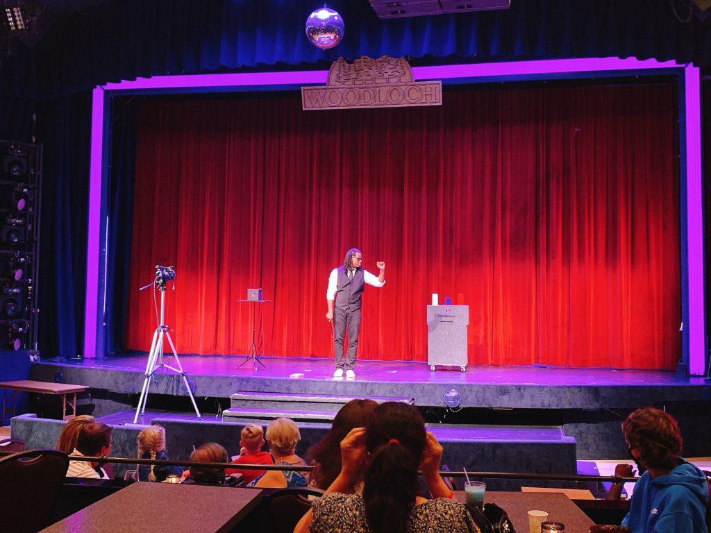 magic show at Woodloch