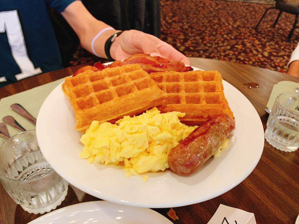 breakfast at Woodloch