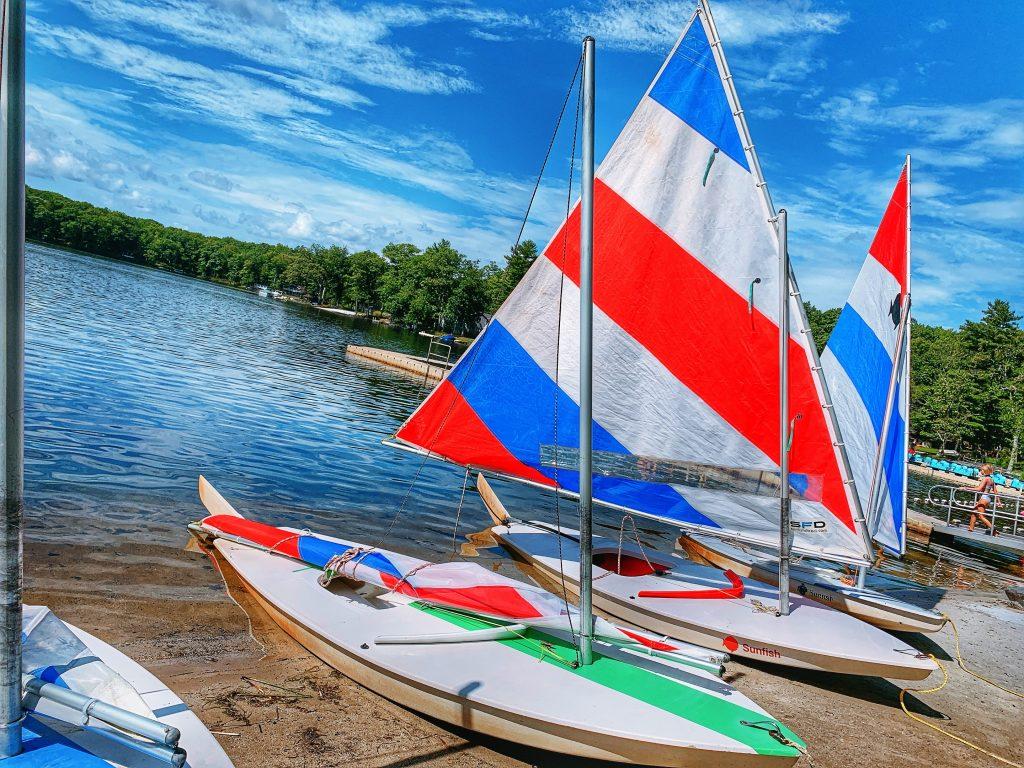Woodloch sailboats