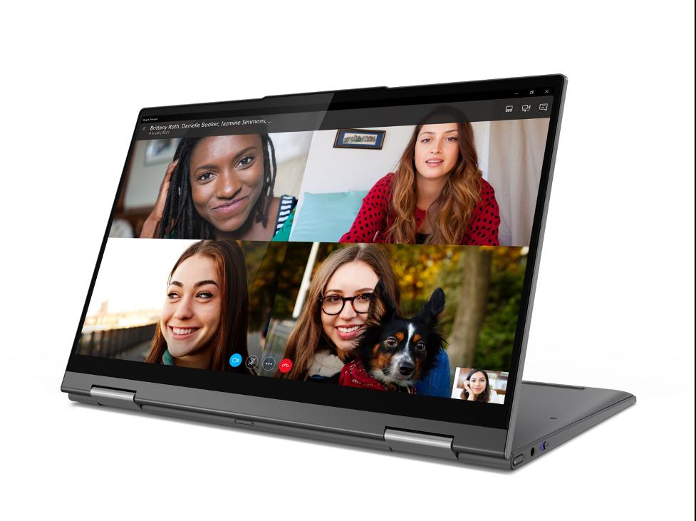 The Lenovo® Flex™ 5G touchscreen