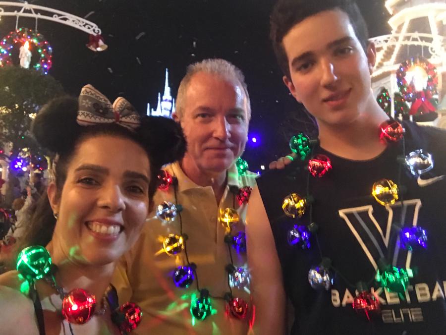 Christmas fun at Disney