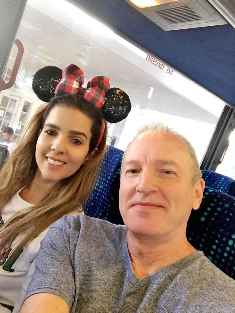 family time at Disney Christmas