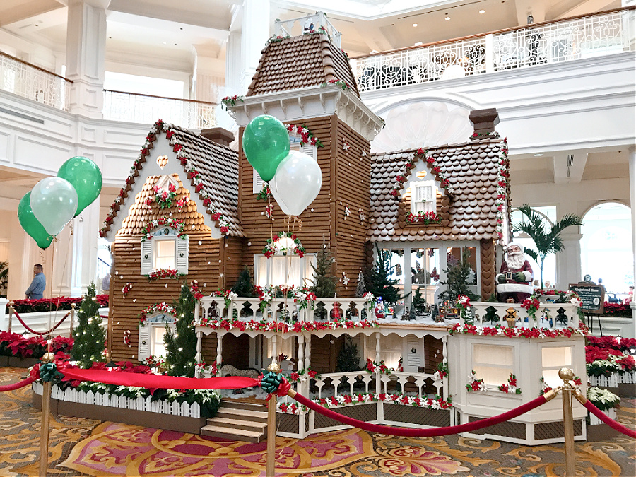 Disney Gingerbread House 2