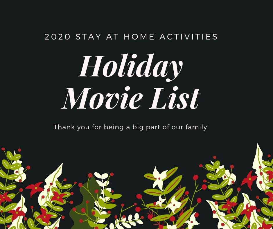 Holiday Movie List