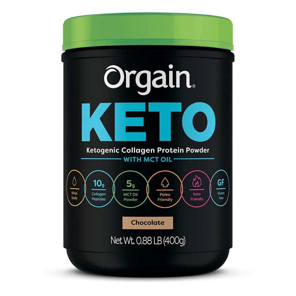 orgain keto protein powder