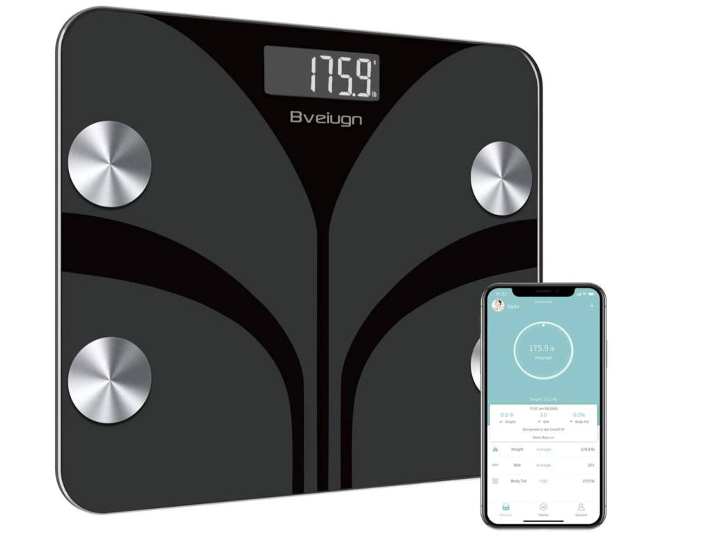 body weight scale with app