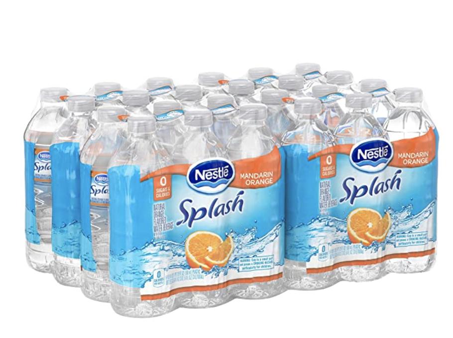 splash flavored water